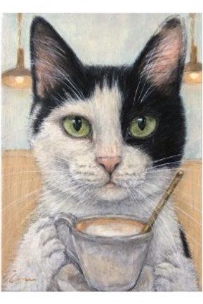 Cimi cat painter ポストカード「Poni(ポニ)」