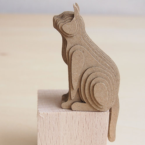 段々倶楽部 段々猫「sitting-a」