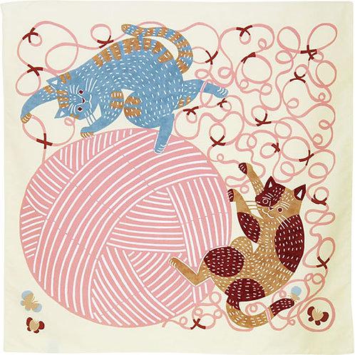 kata kataむすび・アクアドロップ「ネコと毛糸」