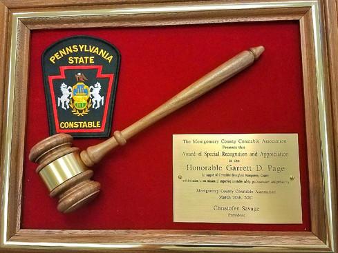 Common Pleas Judge Receives Special Recognition