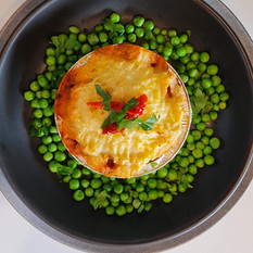 Shepards Pie and Peas