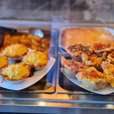 Shepards Pie and Vegetarian Quiches