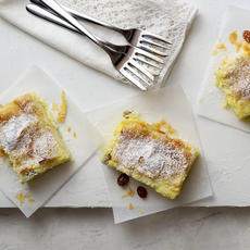 Bougatsa (custard pie)