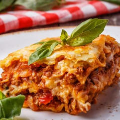 Lasagne with meat