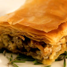 Greek Chicken Pie