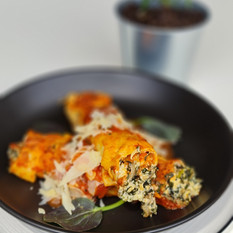 Ricotta and Cheese Canelloni