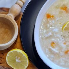 Egg Lemon Soup ( Avgolemono )