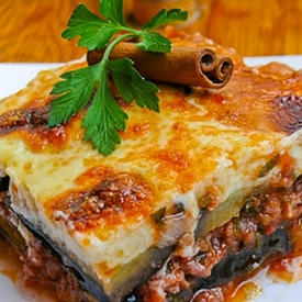 Moussaka (with meat)
