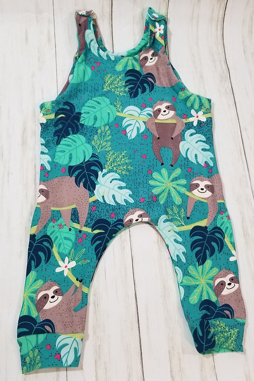 Sloths Boys Romper