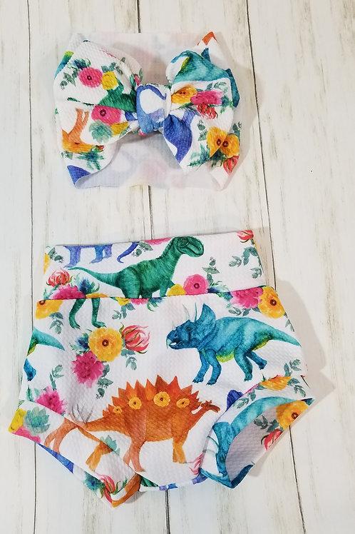 Dino Bummie Set
