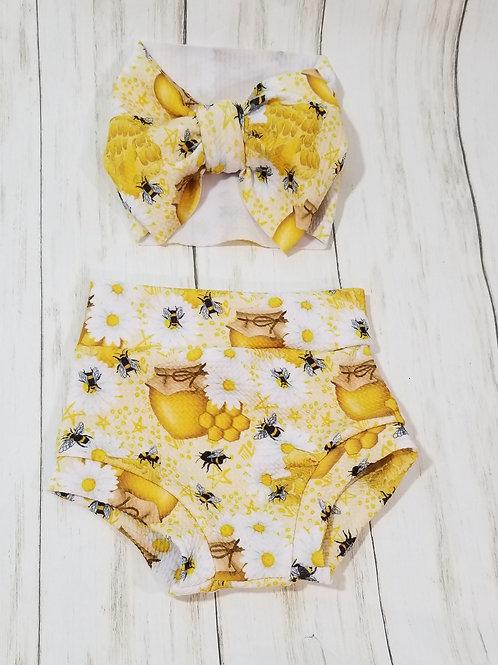 Honey Bees Bummie Set