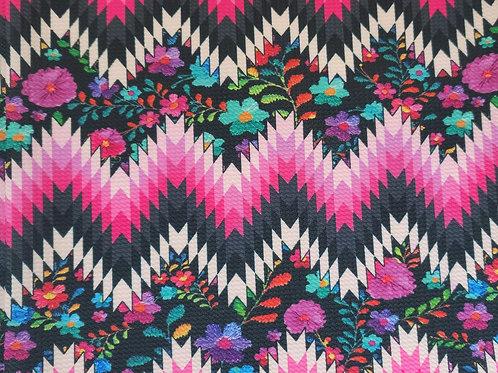 Floral Aztec Bummie Set