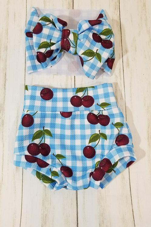 Cherry Bummie Set