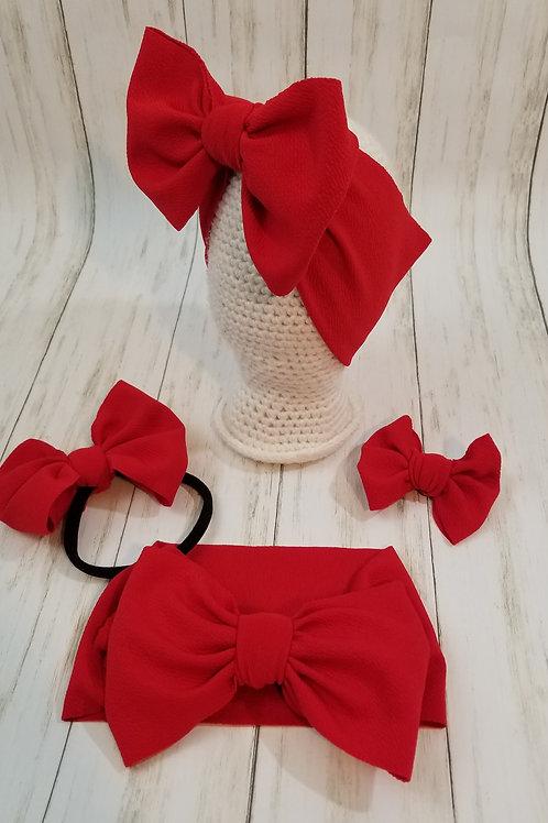Red Bummie Set
