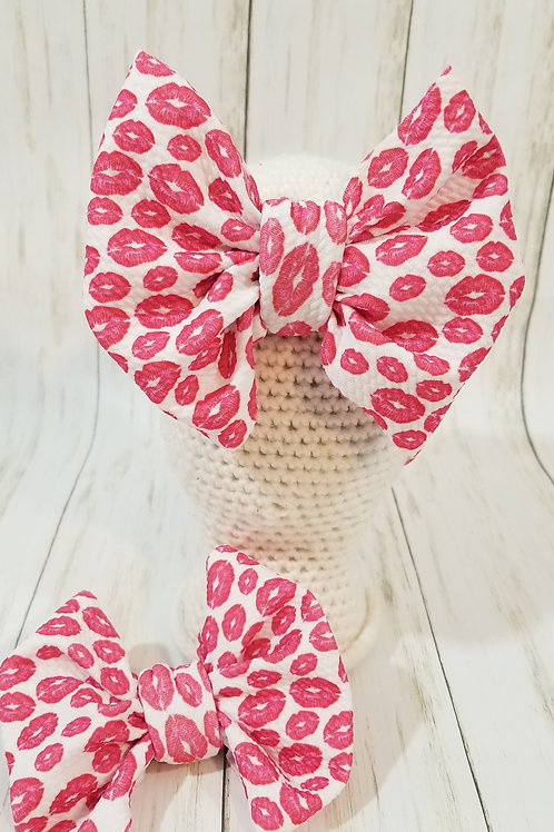 VDay Drop Pink Kisses