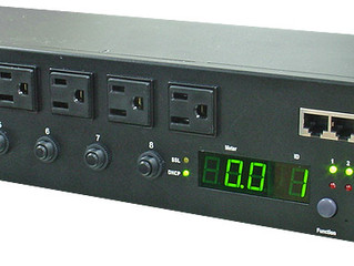 Intelligent PDU with HUB. Each outlet with breaker protection