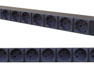 Basic PDU with Schuko Outlets