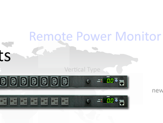 Remote power monitoring PDU in 12 sockets