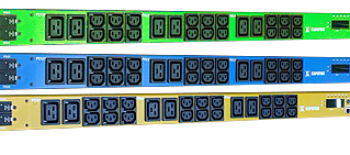 3 Phase Intelligent PDU 48 ports with Color Difference