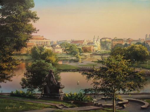 Minsk. My favorite city