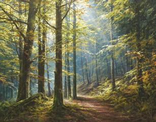 """""""Прогулка в утреннем лесу"""""""