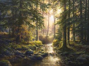 """""""Тихий лесной ручей"""""""