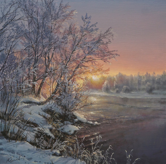 On a winter morning