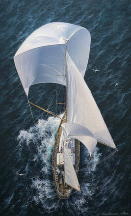 On the open sails