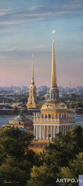 Morning over the Neva