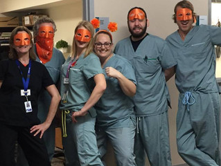 Nanaimo Pain Clinic Staff Support Color the World Orange Day!