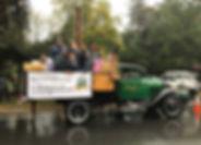 Co-Op employees in Topsfield Fair parade
