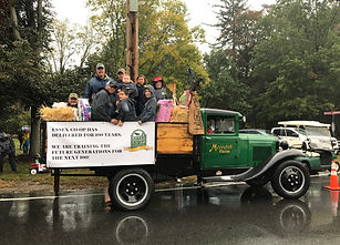 Co-Op employees in Topsfield Fair parade