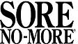 Sore No-More Logo