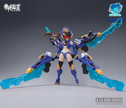御模道 1/12 Scale A.T.K GIRL TITANS(PLAMO) 楸型蟲裝甲 泰坦 機娘