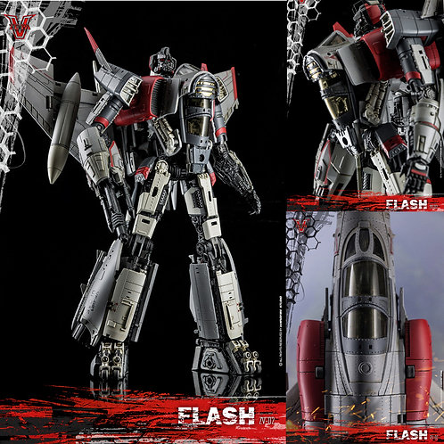 ZETA TOYS ZV-02 FLASH 合金成品