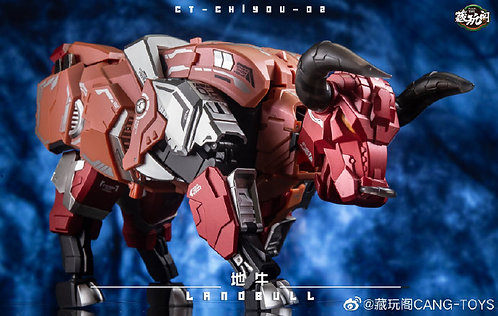 藏玩閣 CANG-TOYS 霹靂星 CT-02 Land Bull 野牛