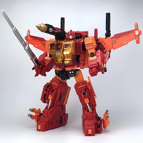Fanshobby MB-06D + MB-11D  Orange Power Baser + Orange God Armour