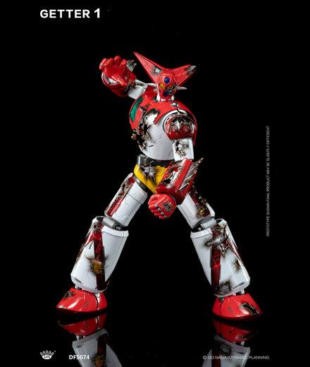 King Arts GETTER ROBOT 三一萬能俠 合金 成品