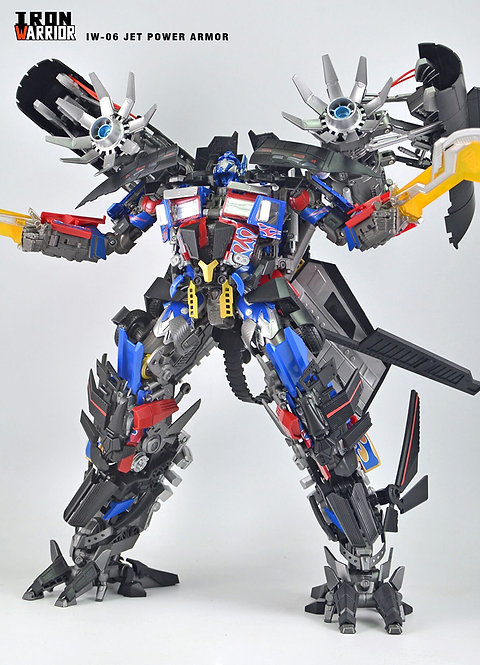 Iron Warrior IW-06 天火馬甲 for MPM04 LT-02 再版