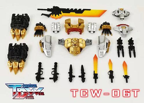 TDW TCW-06T 日版配色 恐龍組合 修羅王 配件包