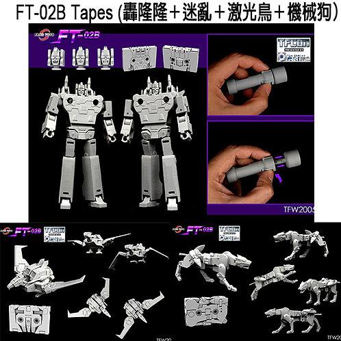 Fanstoys FT-02B Tapes