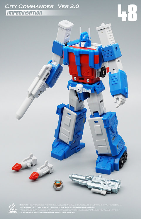 Mech Fans Toys MFT-48 City Commander