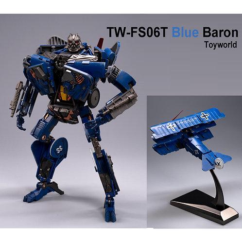 TW-FS06T BLUE BARON 藍色 雙翼機