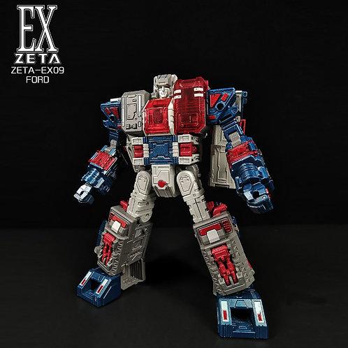 Zeatoys EX09 Ford 電鍍色