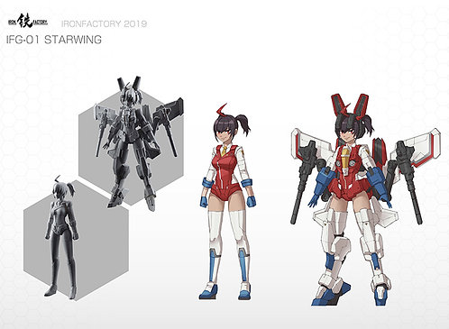 Ironfactory G-01 Starwing