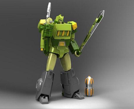 X-Transbot 社彈簧 MX-10 Virtus 三變戰士百丈跳 豪華版
