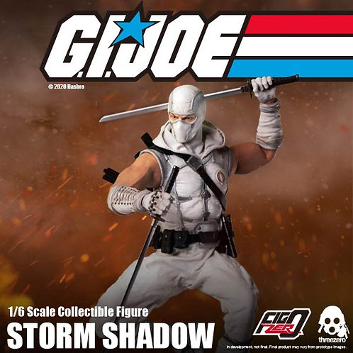 GI JOE 義勇群英 Storm Shadow 白幽靈 1/6 可動人偶