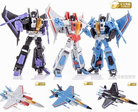 JinBaoJets 飛行小隊 1盒3個