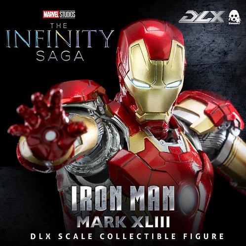Threezero Avengers: Infinity Saga DLX 1/12鋼鐵人Mark 43