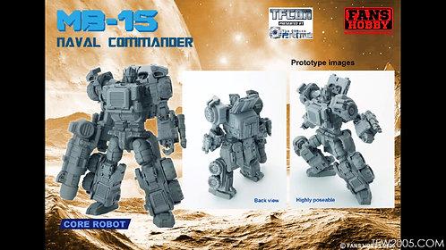 Fans Hobby MB-15 Armada Prime 艦隊司令官